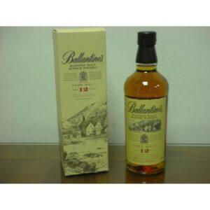 蘇格蘭 百齡罈12年 純麥威士忌 700ml