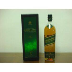 蘇格蘭 約翰走路綠牌15年 純麥威士忌 700ml