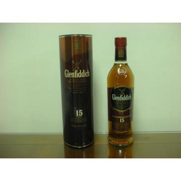 蘇格蘭 格蘭菲迪15年 單一純麥威士忌 700ml
