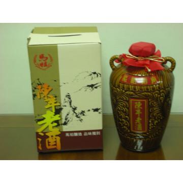 3公斤木盒醰裝陳年老酒